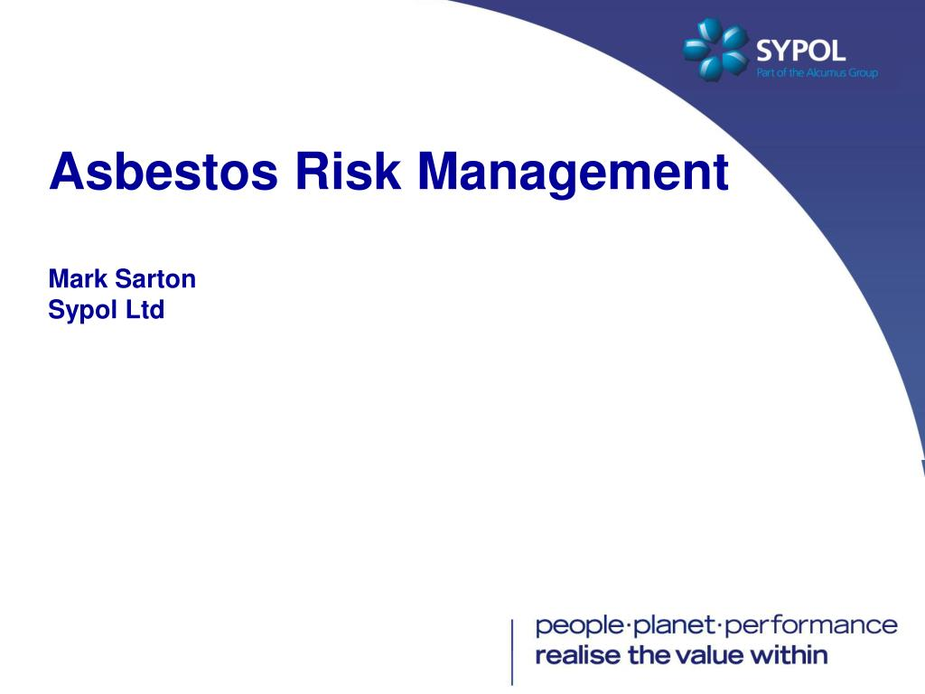 Asbestos Risk Management