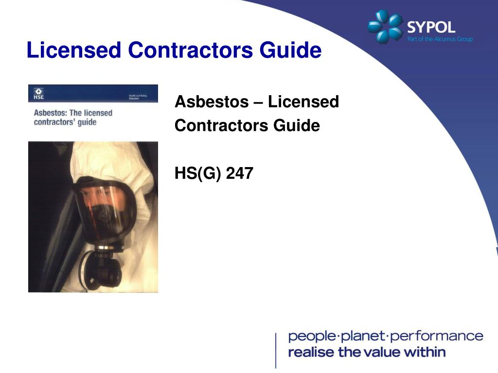 Licensed Contractors Guide