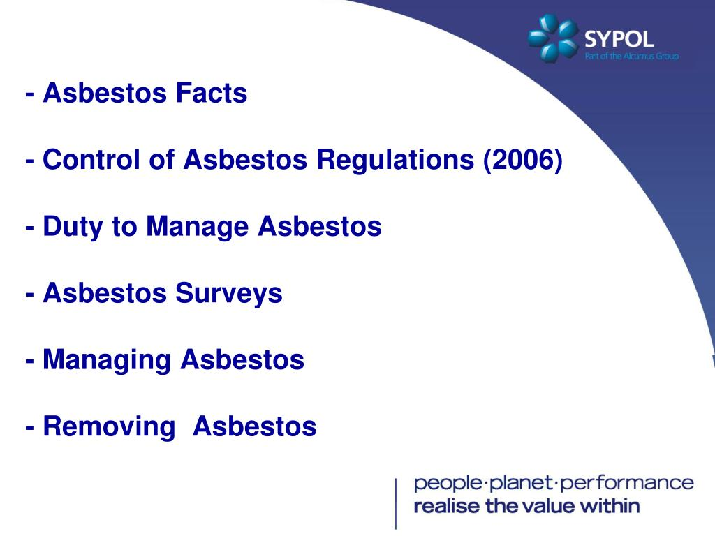 - Asbestos Facts
