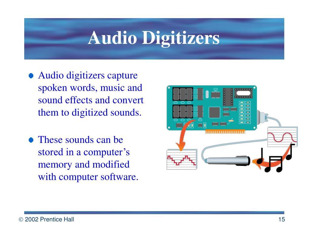 Audio Digitizers