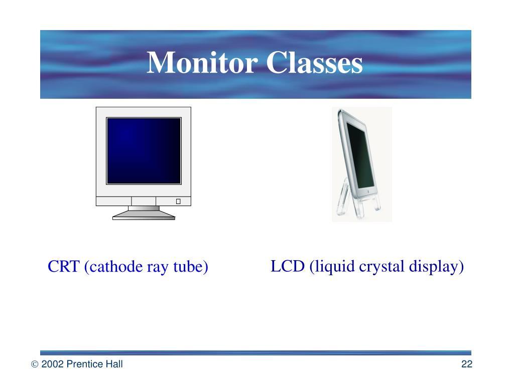 Monitor Classes