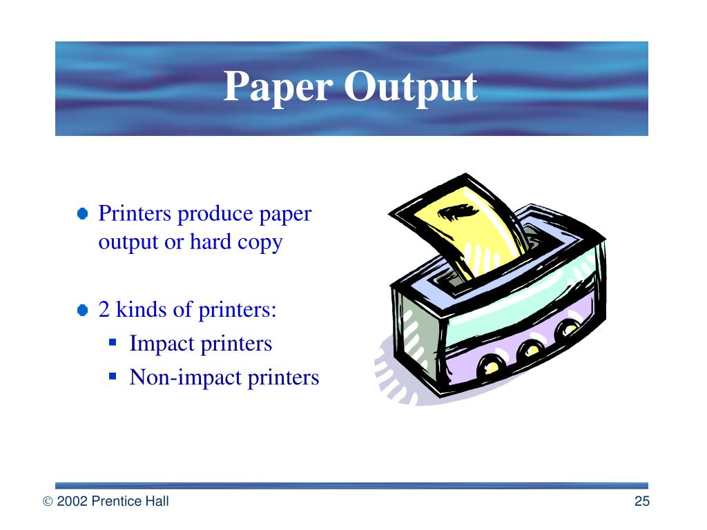 Paper Output