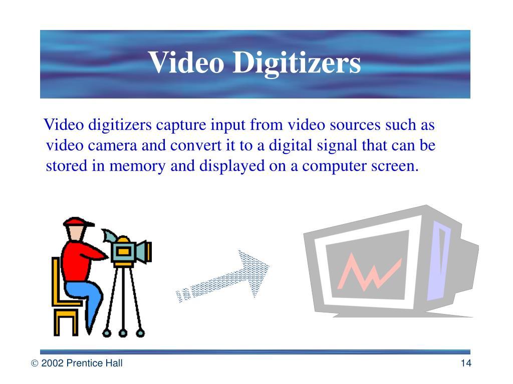 Video Digitizers