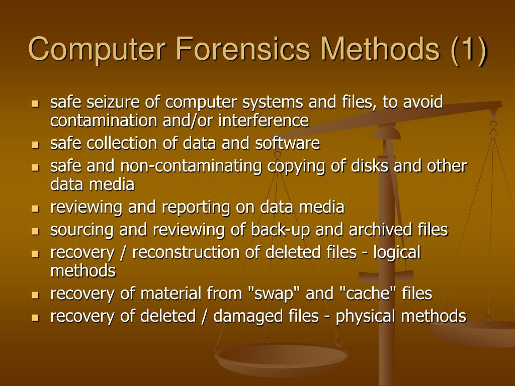 Computer Forensics Methods (1)