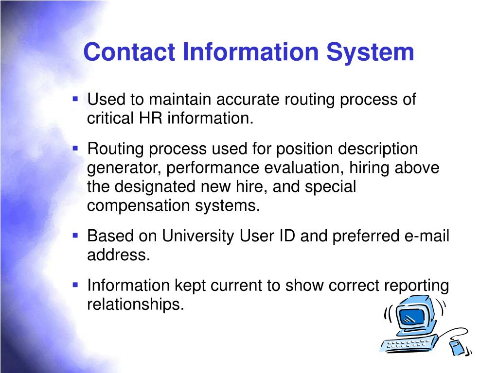 Contact Information System