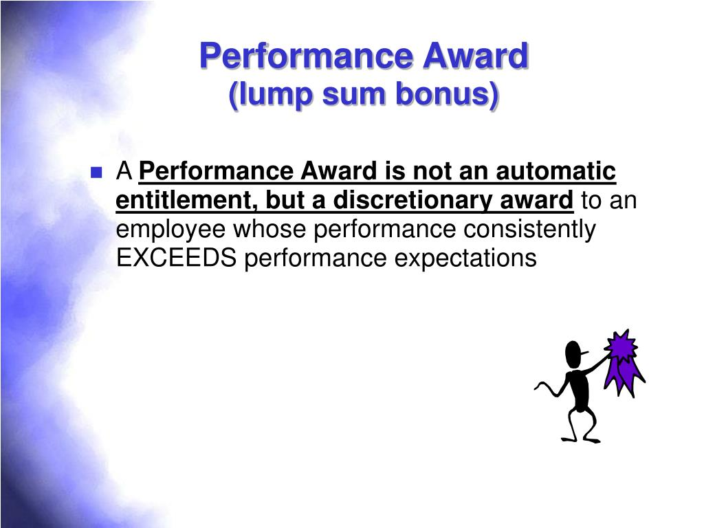Performance Award