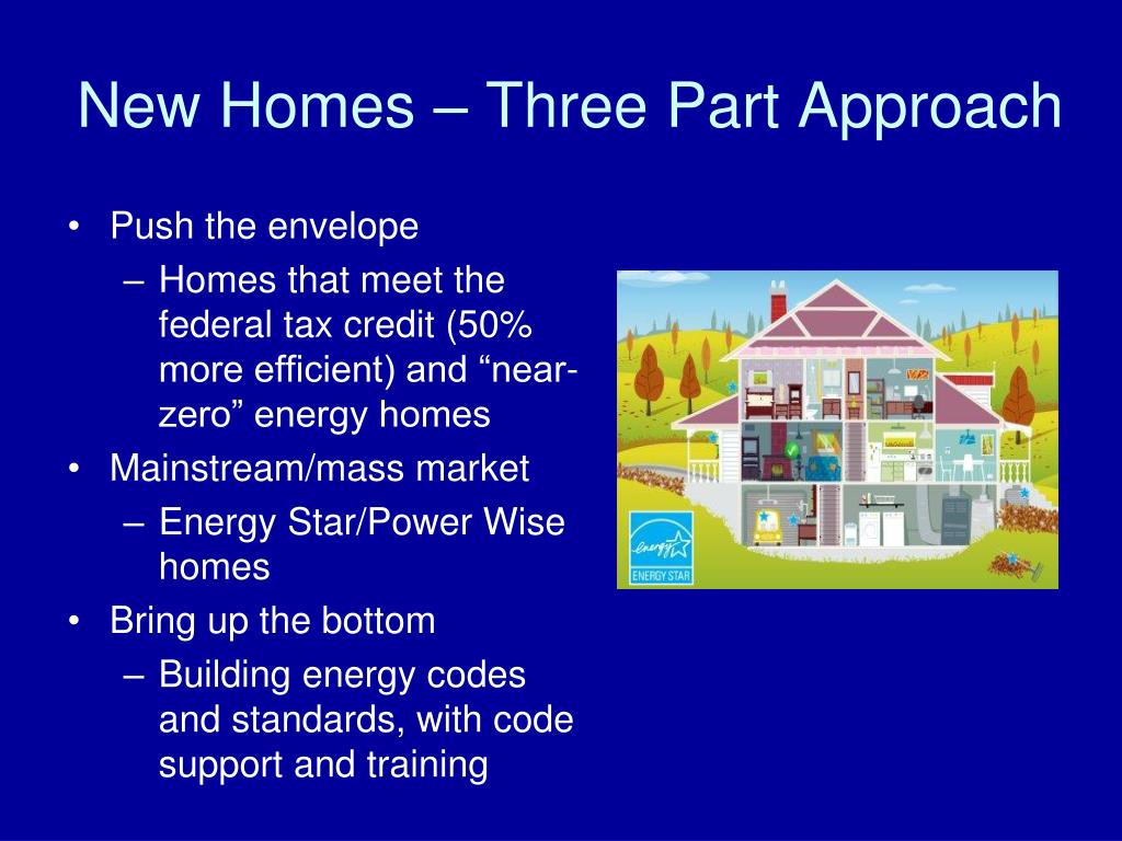 New Homes – Three Part Approach