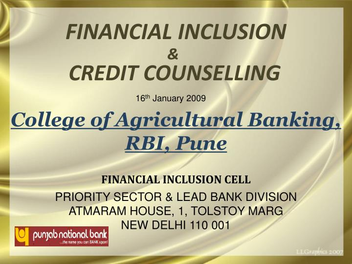 Financial inclusion l.jpg