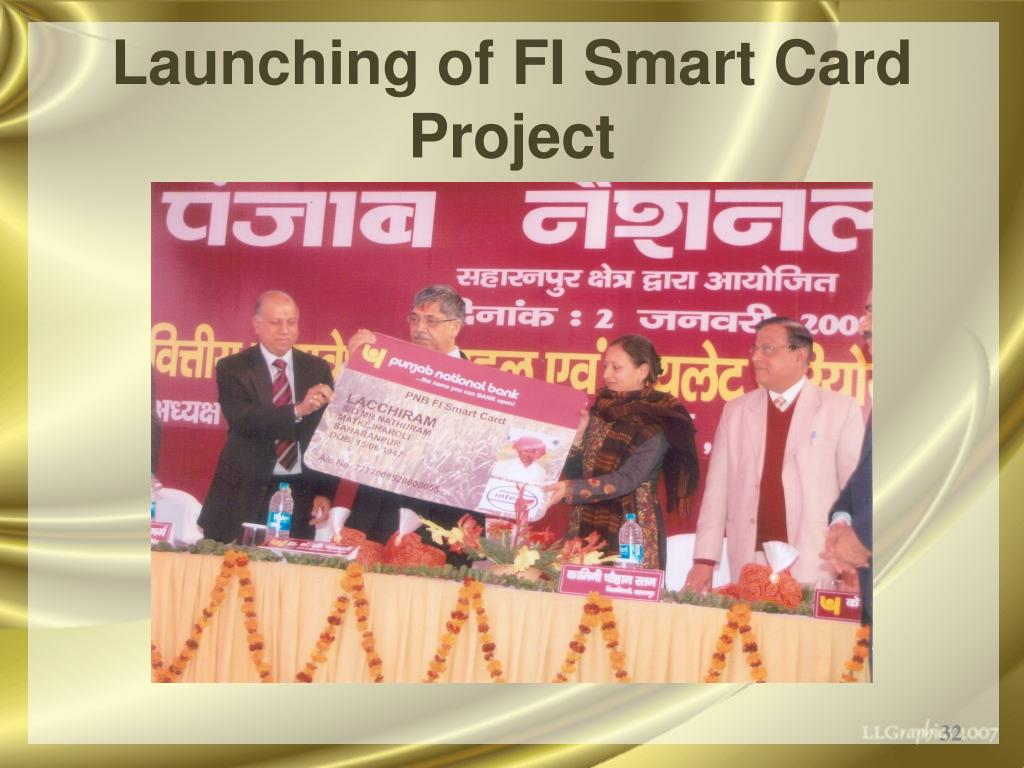 Launching of FI Smart Card Project