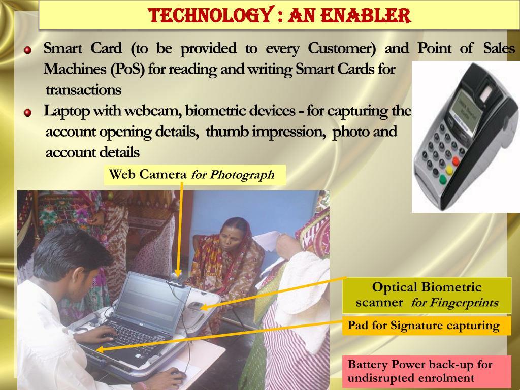 TECHNOLOGY : AN ENABLER