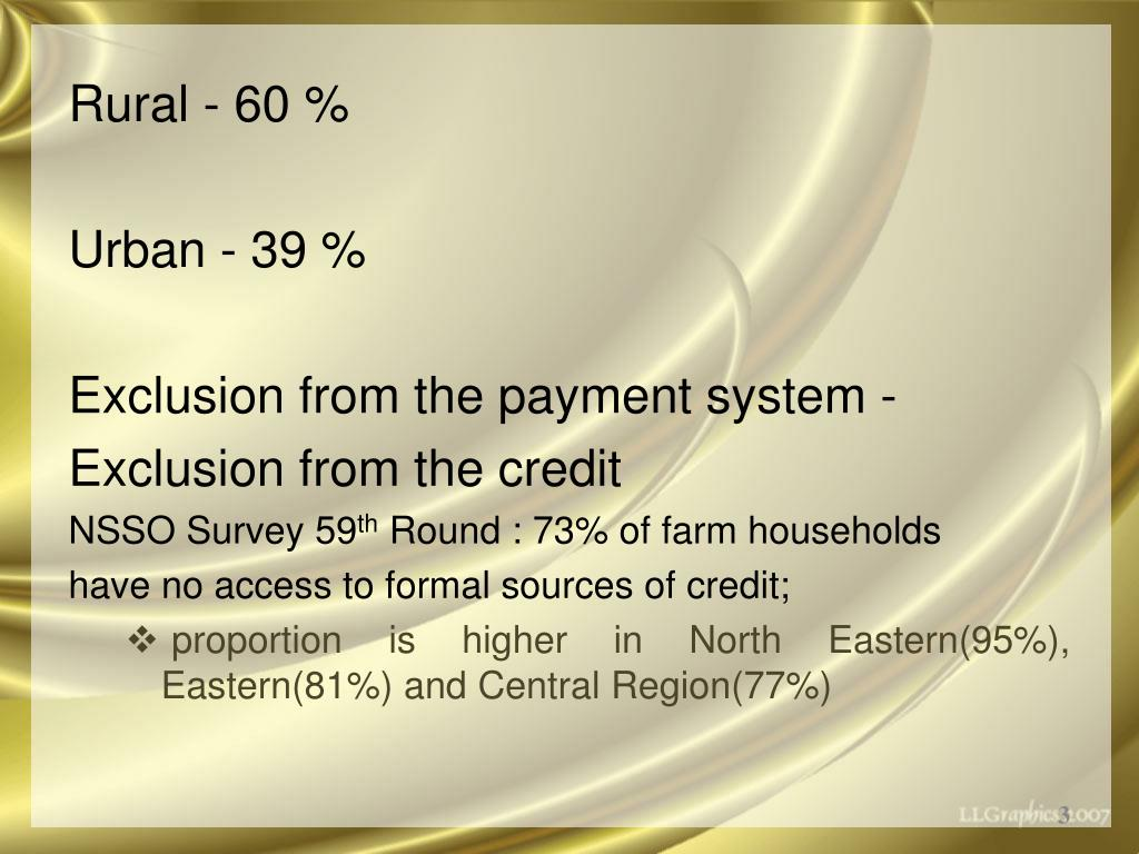Rural - 60 %