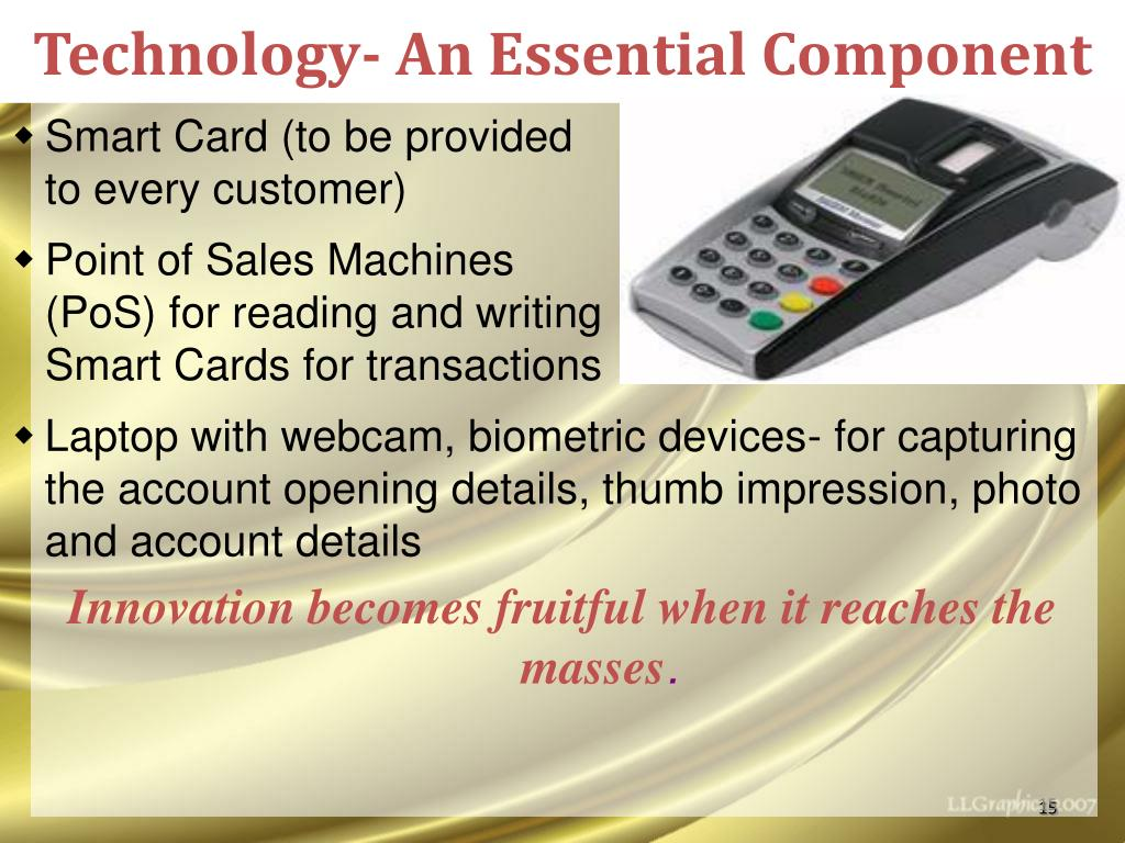 Technology- An Essential Component