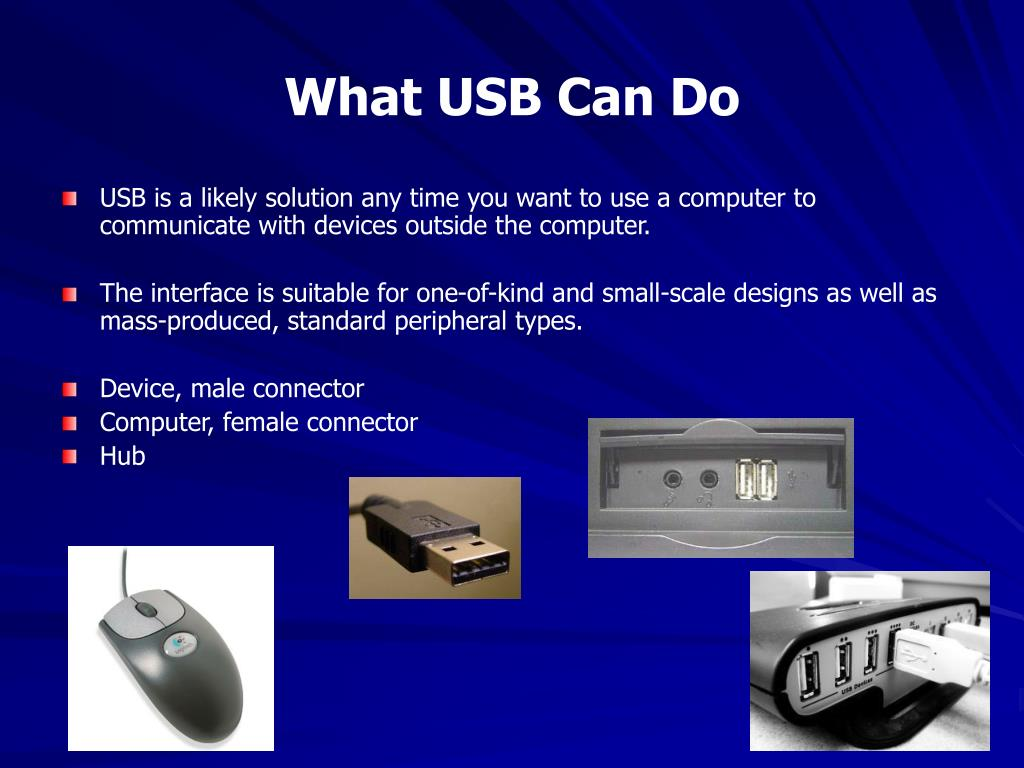 What USB Can Do