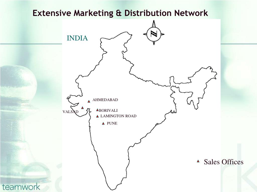 Extensive Marketing & Distribution Network