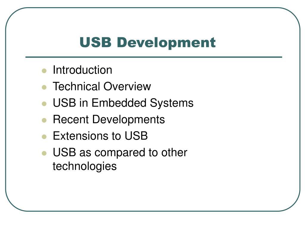 USB Development