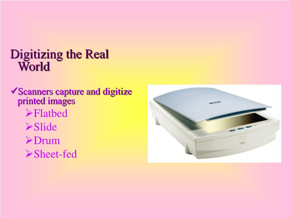 Digitizing the Real World