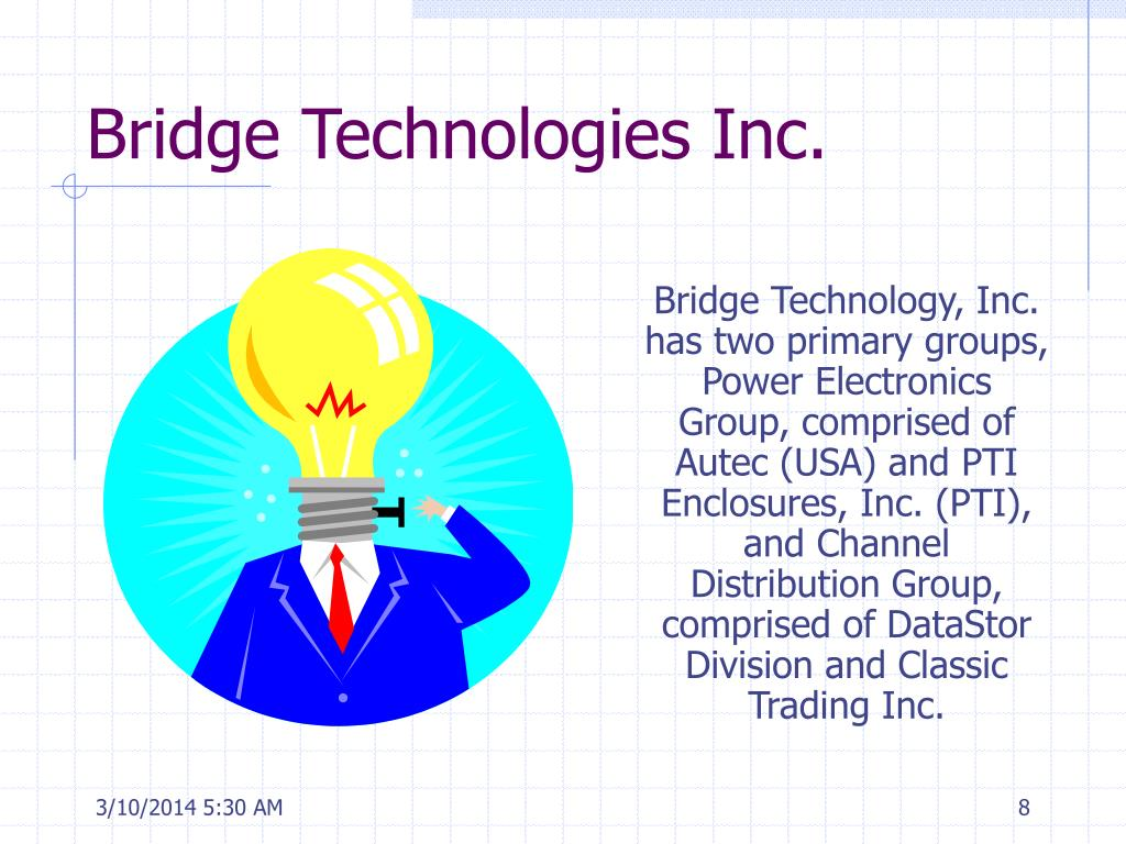 Bridge Technologies Inc.