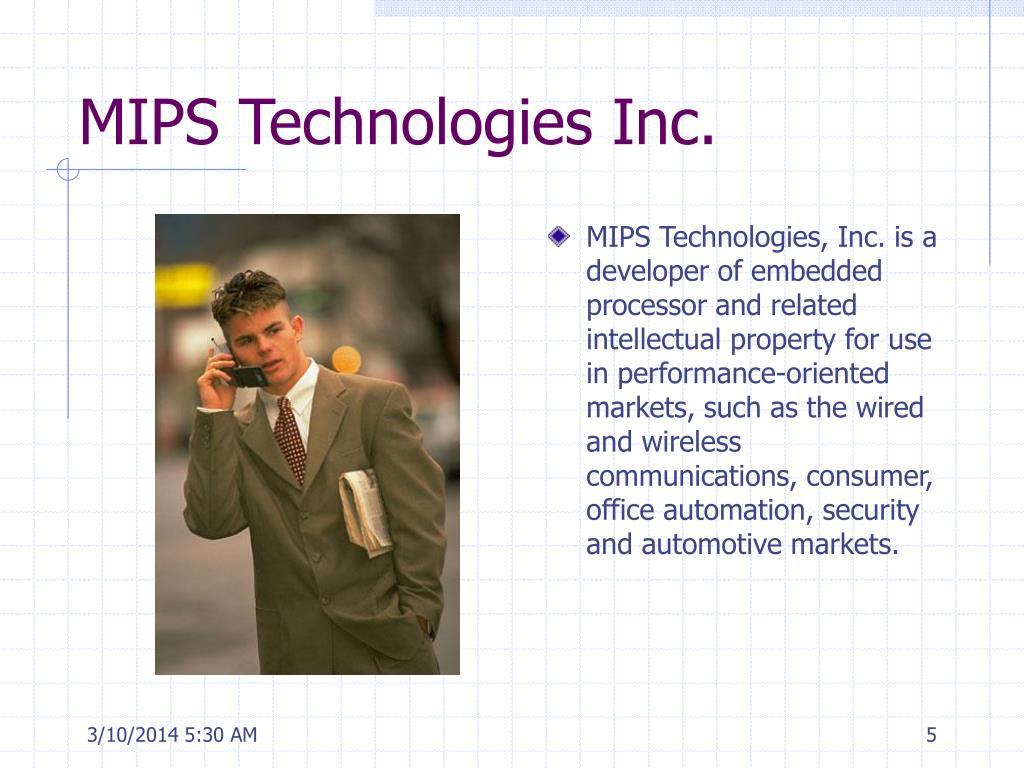 MIPS Technologies Inc.