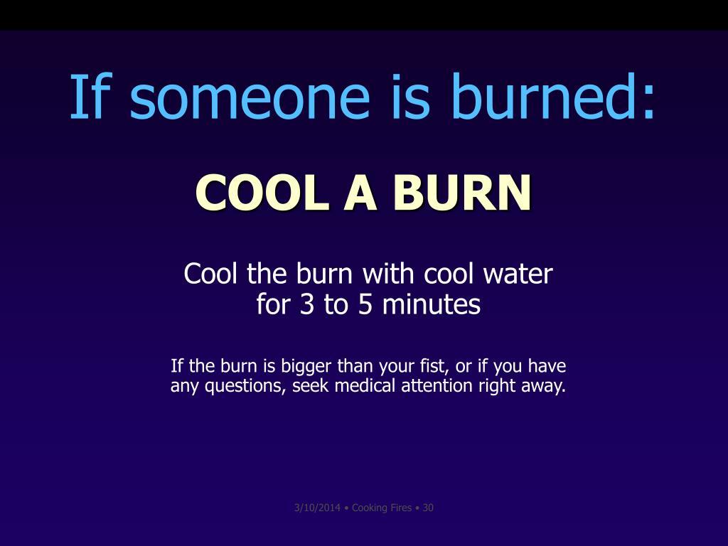 COOL A BURN