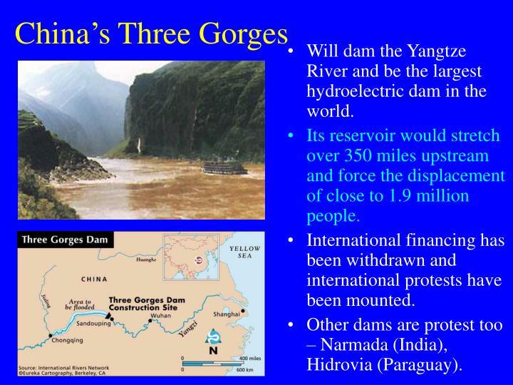 China's Three Gorges