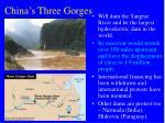 china s three gorges