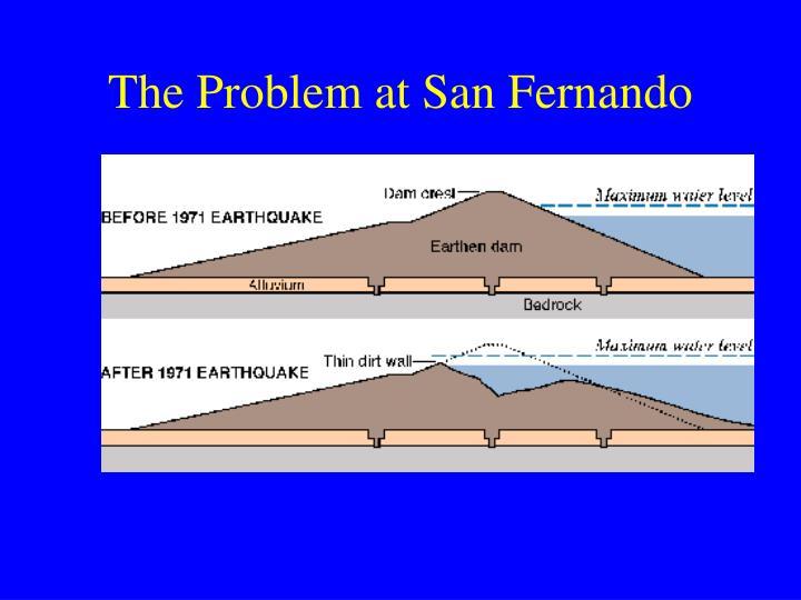 The Problem at San Fernando