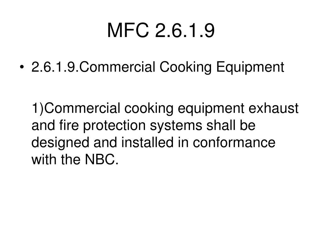MFC 2.6.1.9