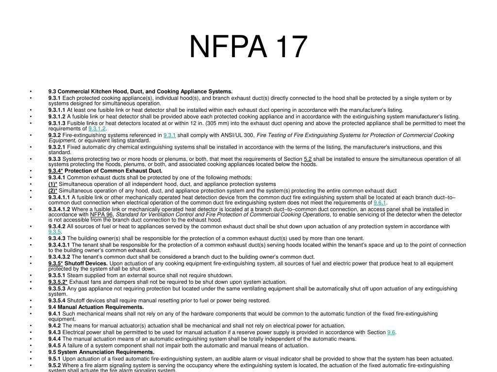 NFPA 17