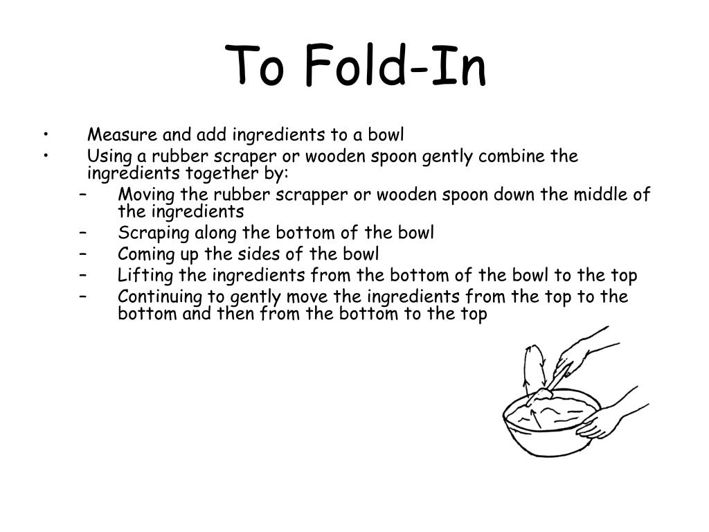 To Fold-In