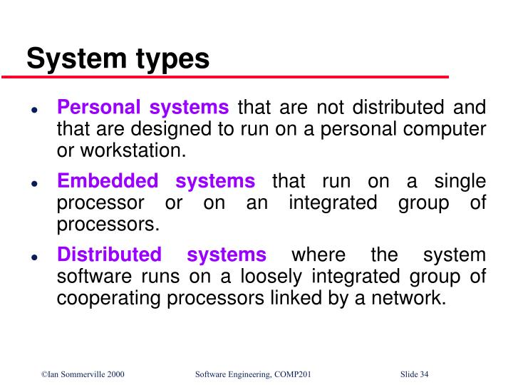System types