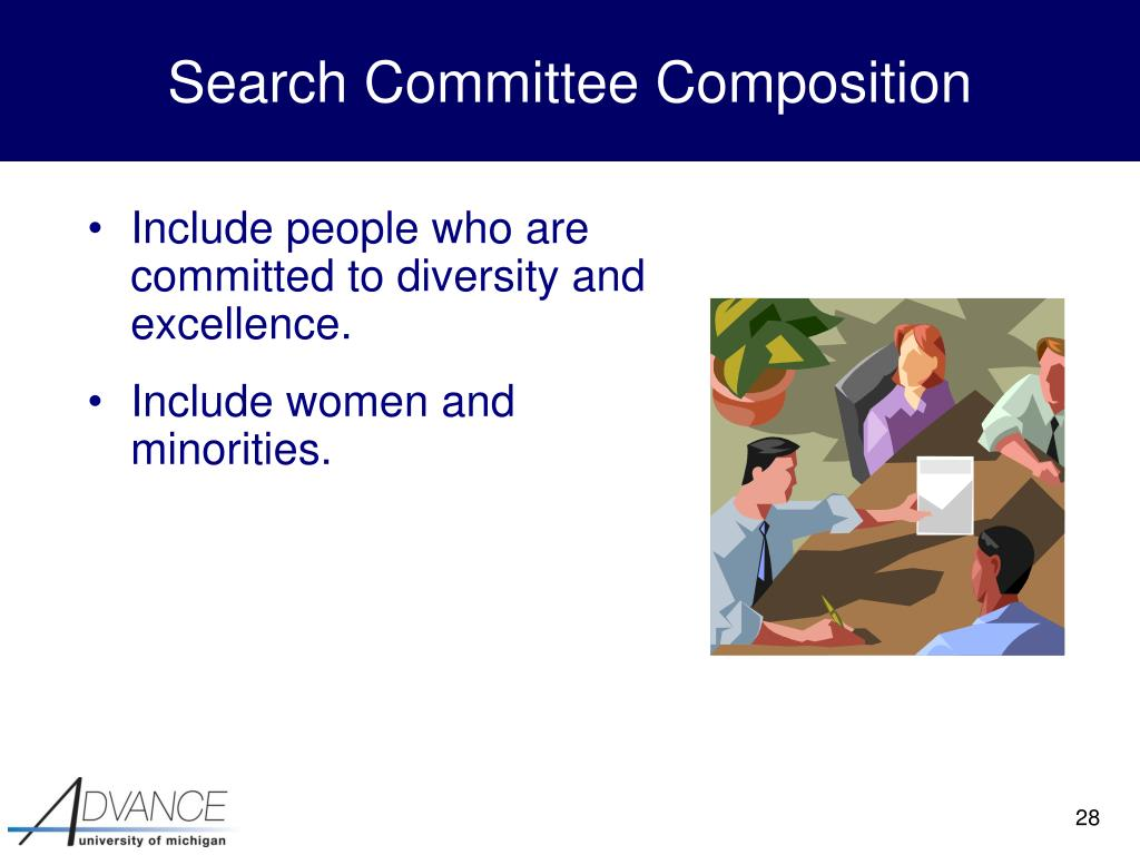Search Committee Composition