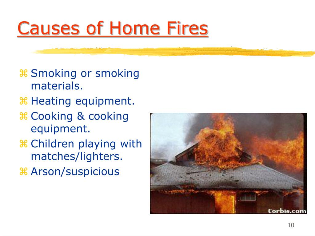 Causes of Home Fires