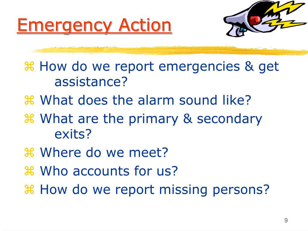 Emergency Action