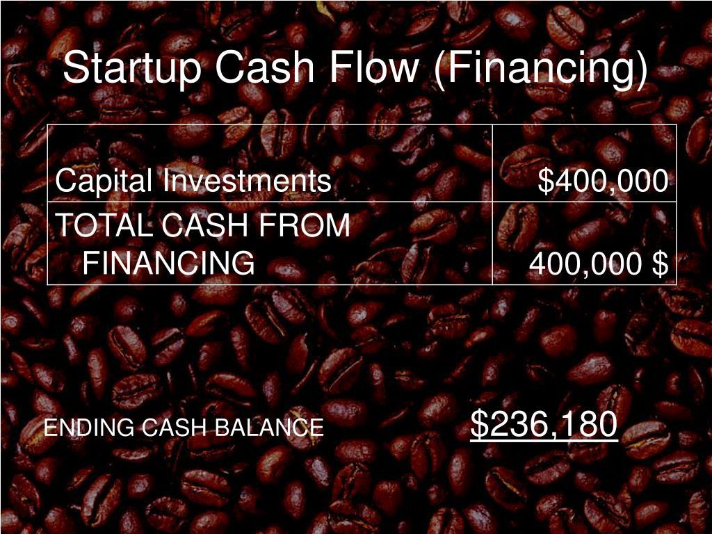 Startup Cash Flow (Financing)