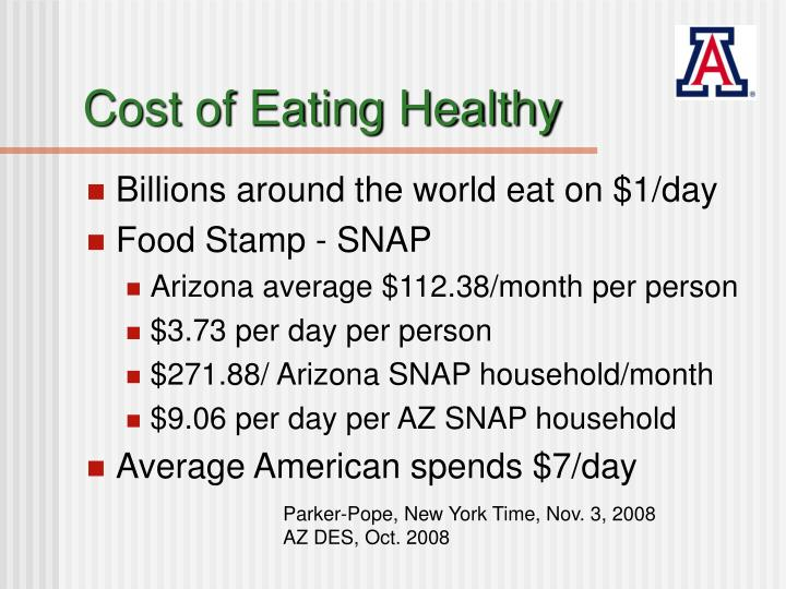 Cost of eating healthy l.jpg