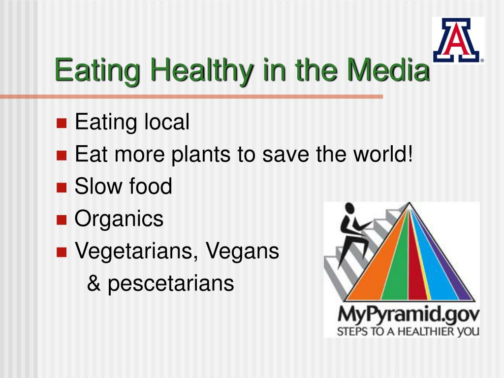 Eating Healthy in the Media