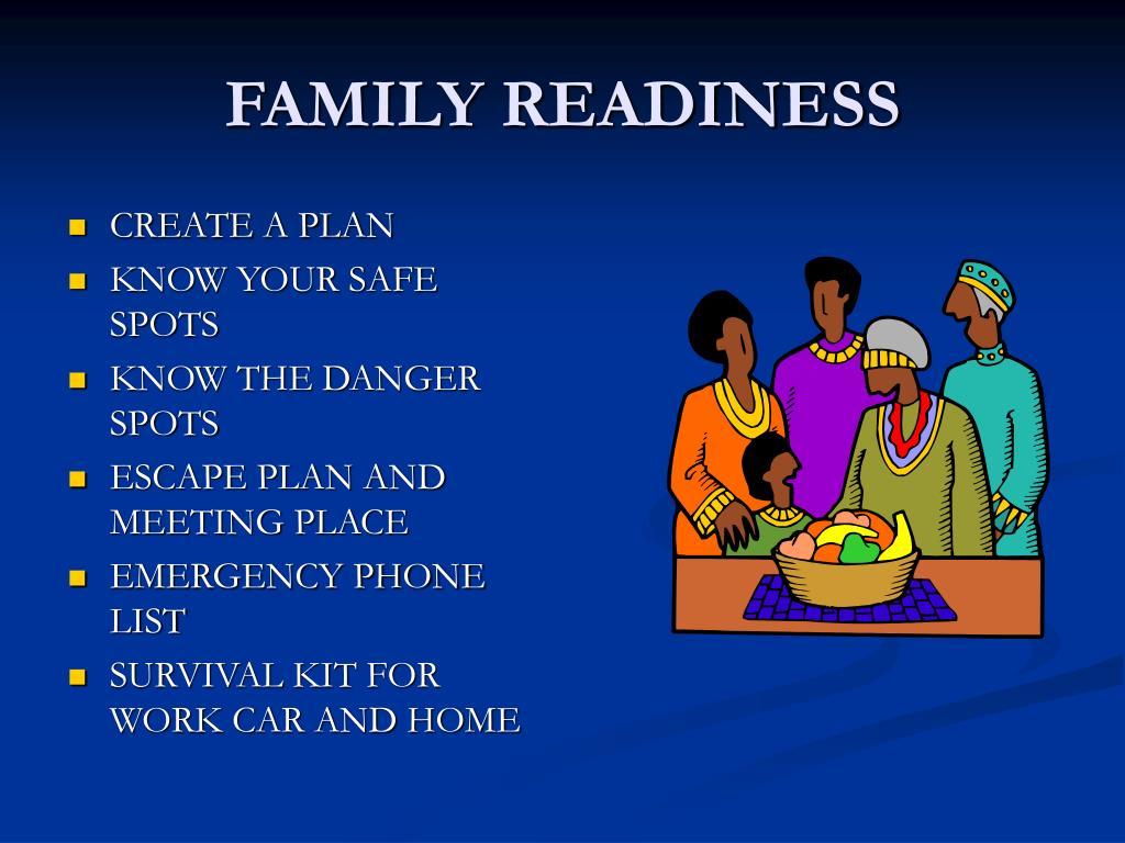 FAMILY READINESS