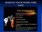 making your home fire safe10