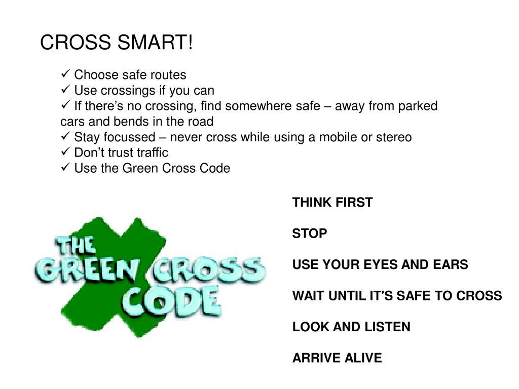 CROSS SMART!