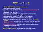 dcmp lab tests ii