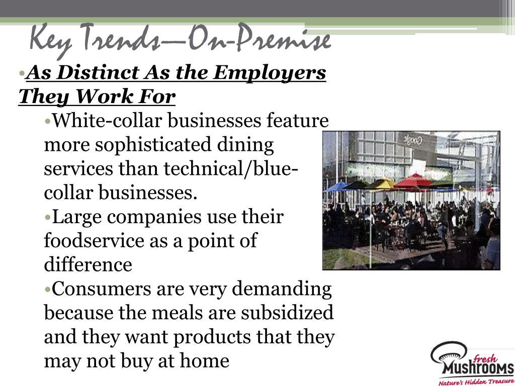 Key Trends—On-Premise