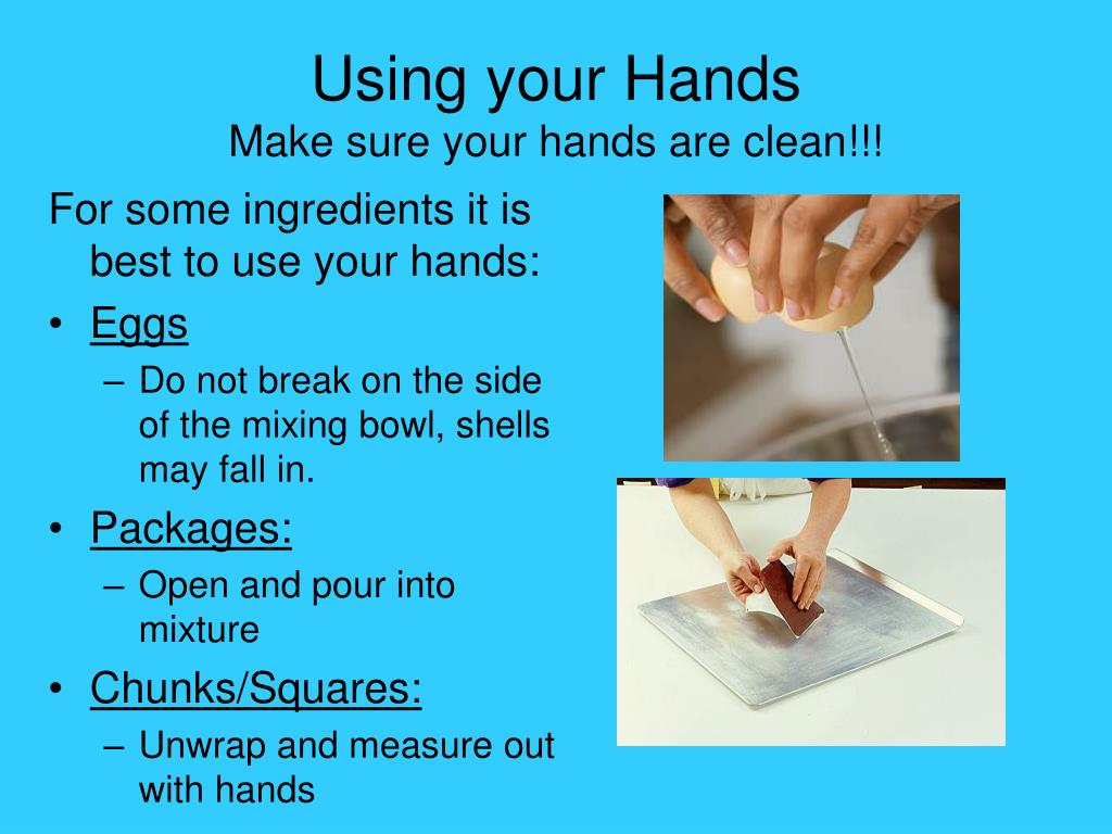 Using your Hands
