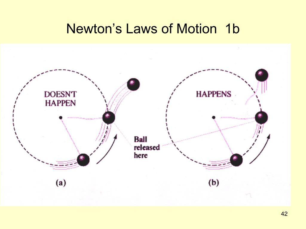 Newton's Laws of Motion  1b