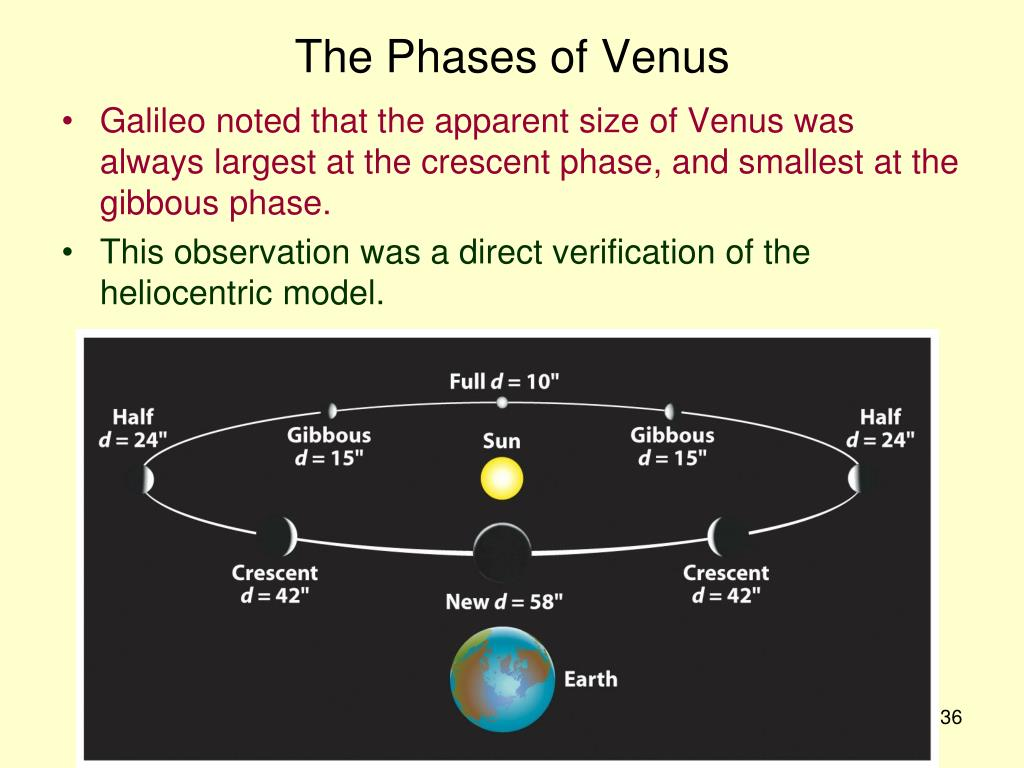 The Phases of Venus