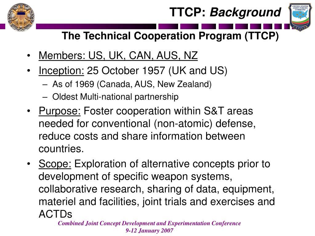 TTCP: