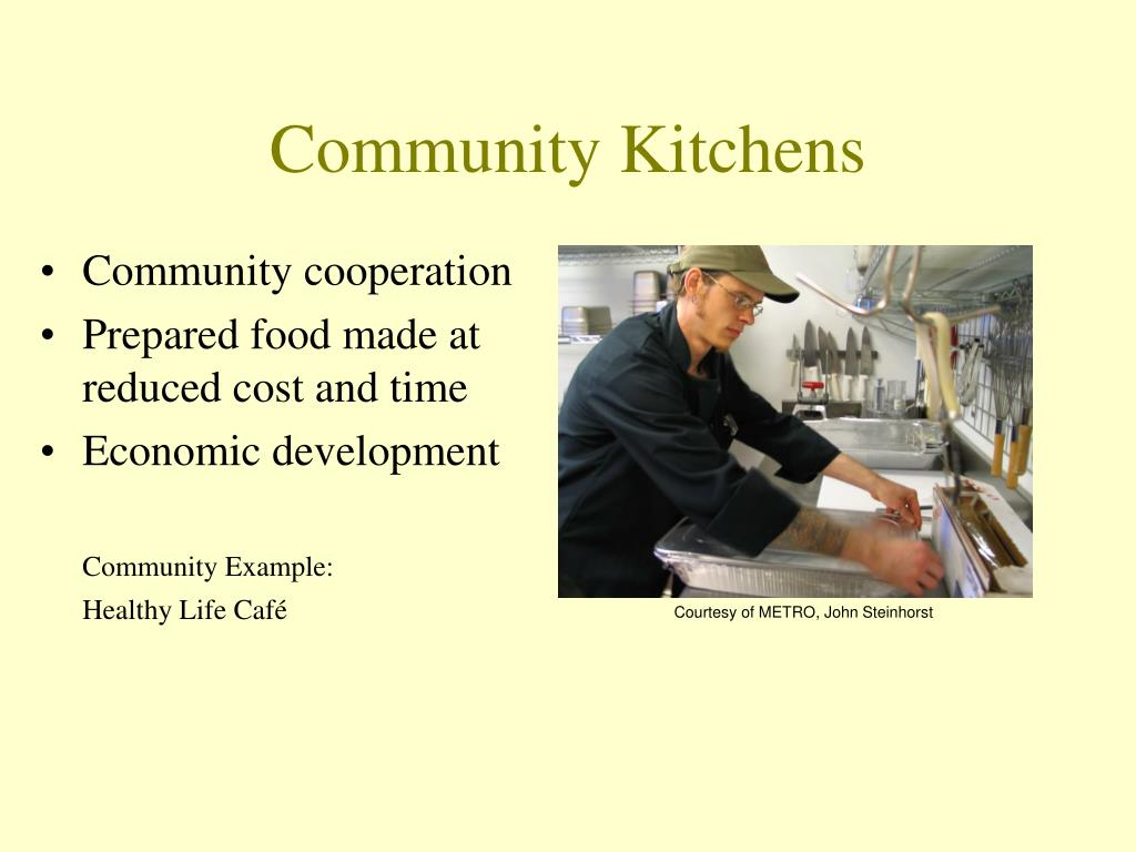 Community Kitchens