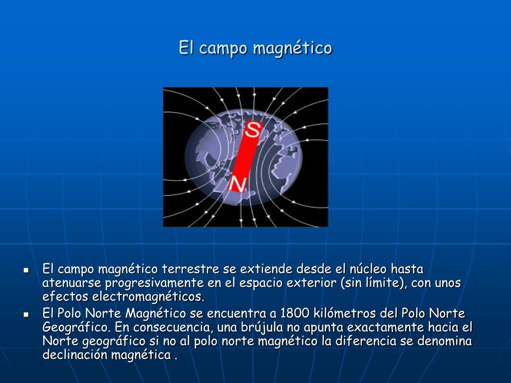 El campo magnético