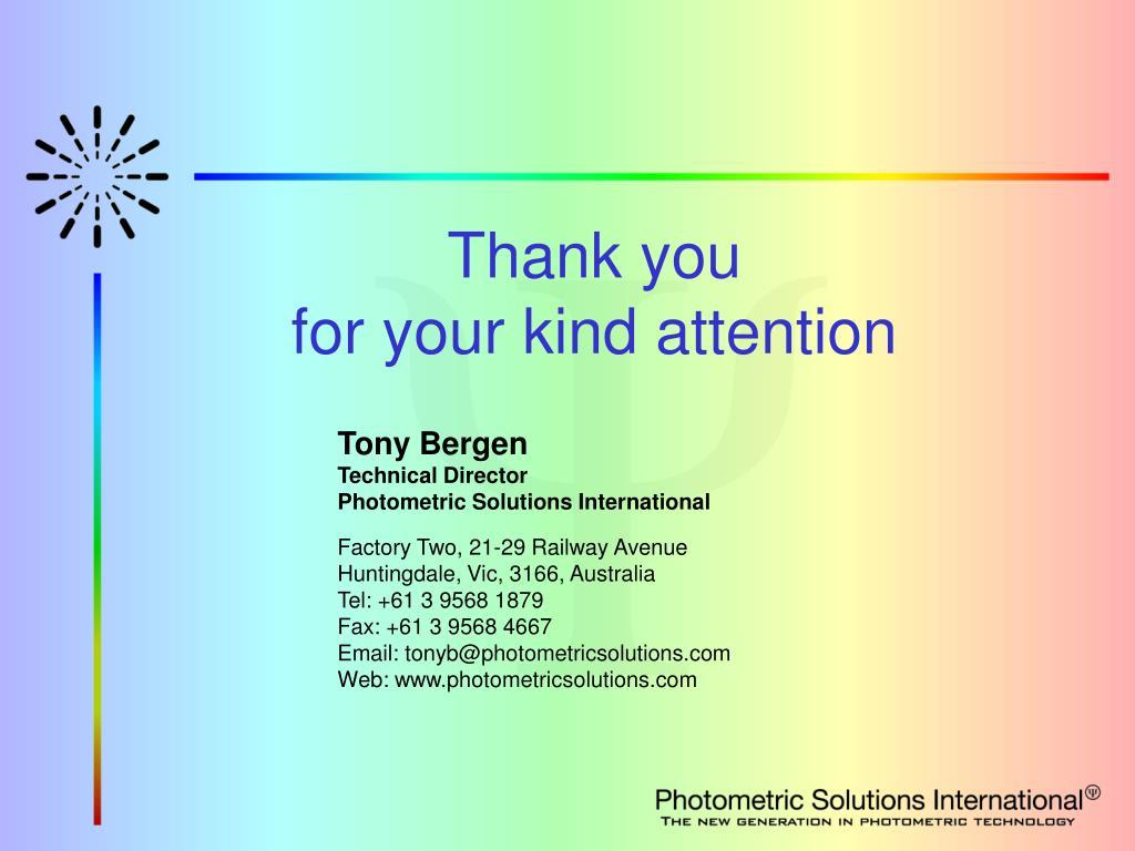 Tony Bergen