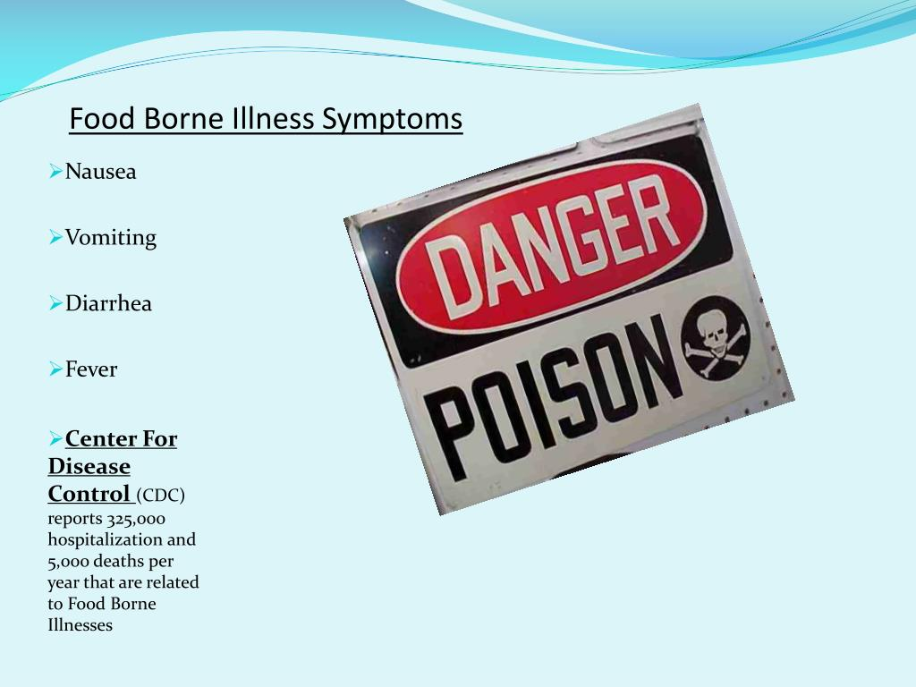 Food Borne Illness Symptoms