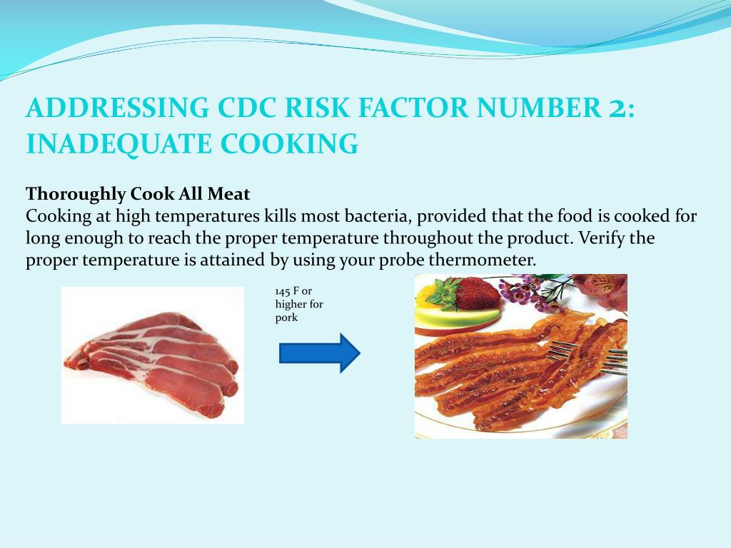 ADDRESSING CDC RISK FACTOR NUMBER